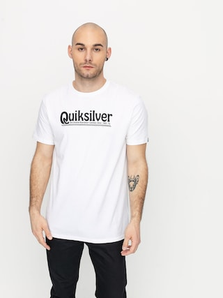 T-shirt Quiksilver New Slang (white)