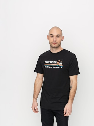 T-shirt Quiksilver Stone Cold Classic (black)