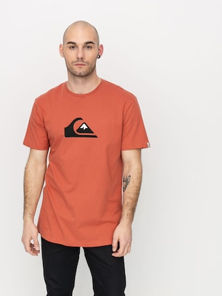 T-shirt Quiksilver Comp Logo (redwood)