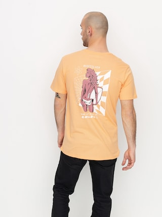 T-shirt Quiksilver Slow Burn (coral sands)