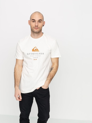 T-shirt Quiksilver First Fire (snow white)