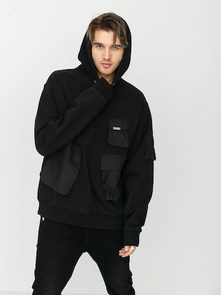 Bluza z kapturem Stussy Cargo Fleece HD (black)
