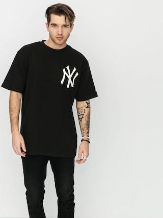 T-shirt New Era Mlb Big Logo Oversized New York Yankees (blk)