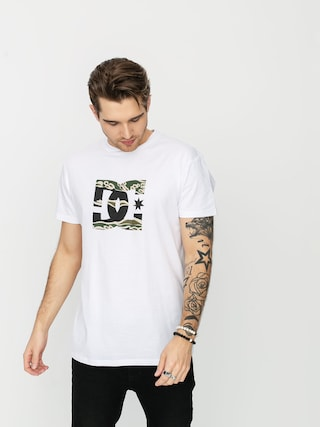 T-shirt DC Star 3 (snow white/camo)
