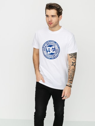 T-shirt DC Circle Star 3 (snow white/nautical blue p)