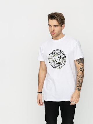T-shirt DC Circle Star 3 (snow white/camo)