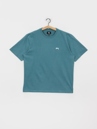T-shirt Stussy Stock Logo (teal)