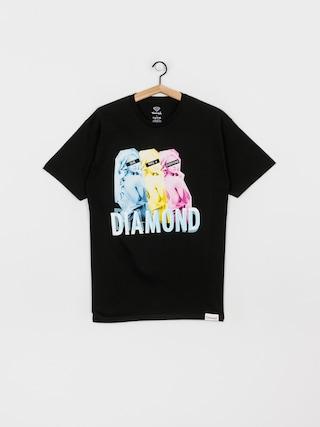 T-shirt Diamond Supply Co. Four Everyone (black)
