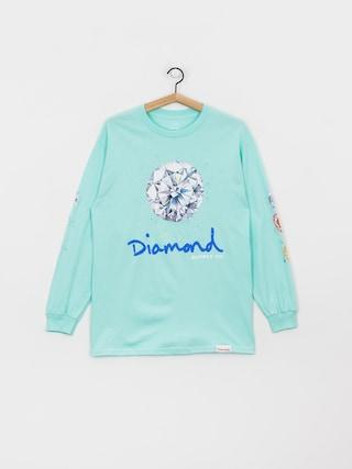 Longsleeve Diamond Supply Co. Splash Sign (diamond blue)