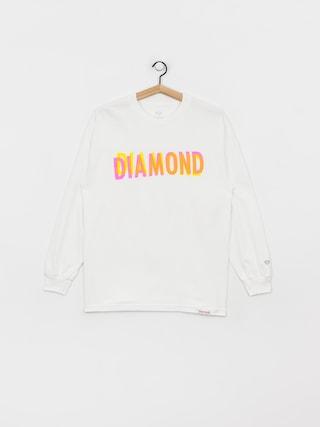 Longsleeve Diamond Supply Co. For Everyone (white)