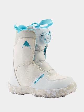 Buty snowboardowe Burton Grom Boa (white)