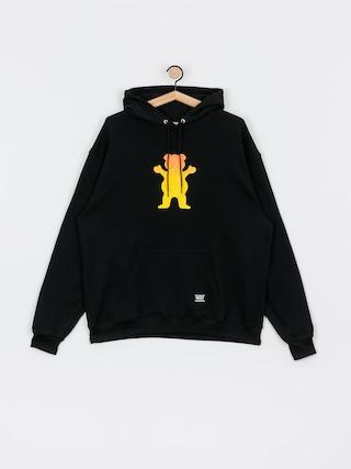 Bluza z kapturem Grizzly Griptape X Champion Og Bear Fadeaway HD (black)