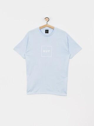 T-shirt HUF Essentials Box Logo (greek blu)