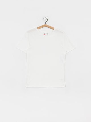 T-shirt Brixton Basic Prem (off white)