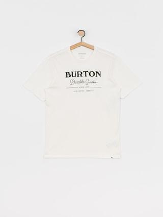 T-shirt Burton Durable Goods (stout white)