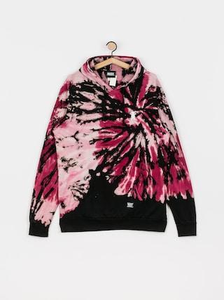 Bluza z kapturem Grizzly Griptape Embroidered Fruit Punch HD (pink tie dye)