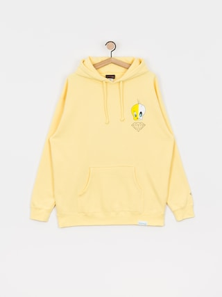 Bluza z kapturem Diamond Supply Co. X Ray HD (yellow)