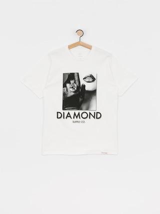 T-shirt Diamond Supply Co. Black Gloves (white)
