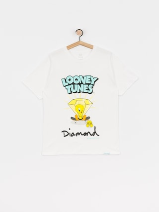 T-shirt Diamond Supply Co. Tweety Skate (white)