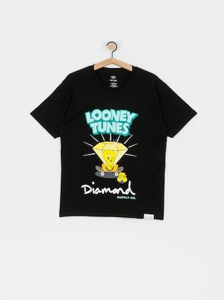 T-shirt Diamond Supply Co. Tweety Skate (black)