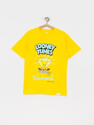 T-shirt Diamond Supply Co. Tweety Skate (yellow)