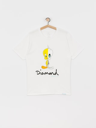 T-shirt Diamond Supply Co. X Ray (white)