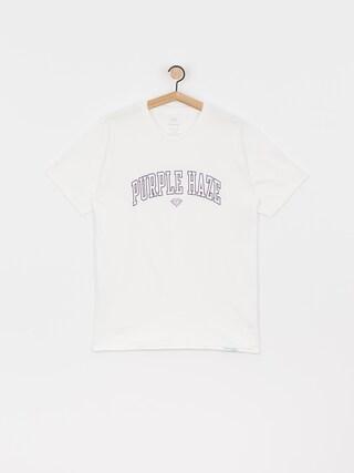 T-shirt Diamond Supply Co. Purple Haze (white)