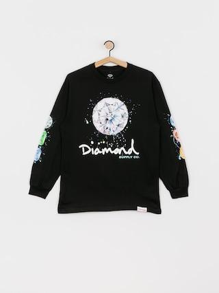 Longsleeve Diamond Supply Co. Splash Sign (black)