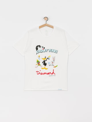 T-shirt Diamond Supply Co. Looney Tunes (white)