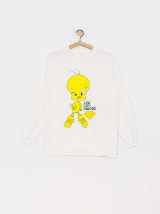 Longsleeve Diamond Supply Co. Puddy Tat (white)