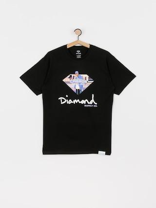 T-shirt Diamond Supply Co. Cam Ron Sign (black)