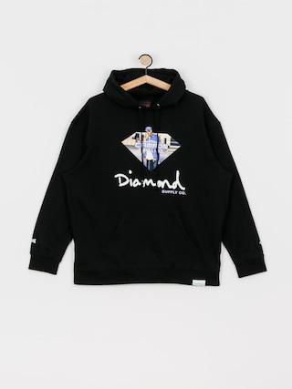 Bluza z kapturem Diamond Supply Co. Cam Ron Sign HD (black)