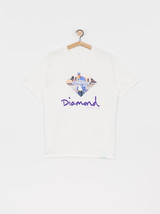 T-shirt Diamond Supply Co. Cam Ron Sign (white)