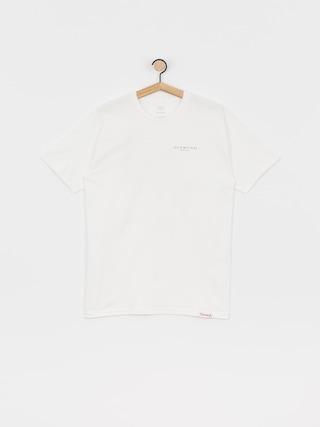 T-shirt Diamond Supply Co. Heritage (white)