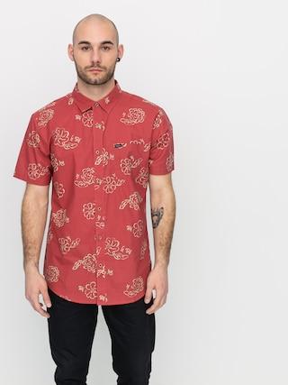 Koszula Brixton Charter Print Wvn (lava red)