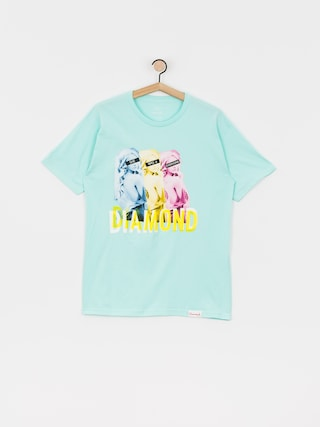 T-shirt Diamond Supply Co. Four Everyone (diamond blue)