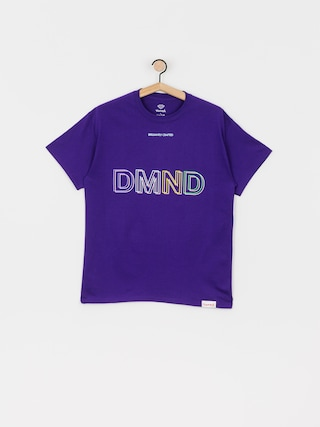 T-shirt Diamond Supply Co. 3 Dmnd (purple)