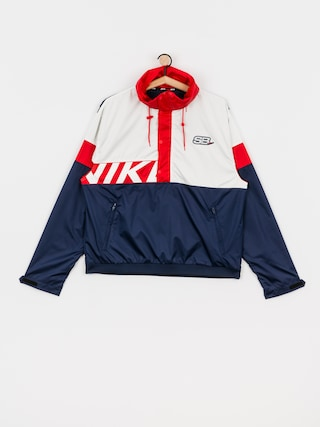 Kurtka Nike SB Anorak (midnight navy/white/university red/white)