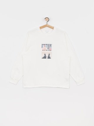 Longsleeve Polar Skate Happy Sad Around The World (white)