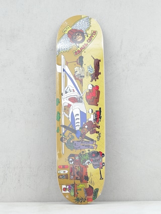 Deck Youth Skateboards KC Pro (yellow/multi)