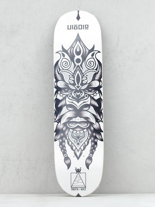 Deck Youth Skateboards X Kult Wade (white/black)