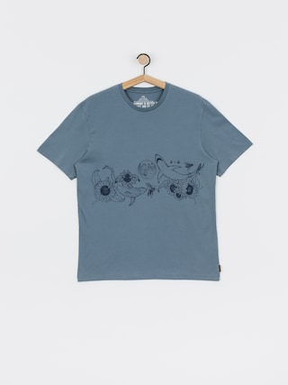 T-shirt Volcom Pangea Seed Fa (stormy blue)