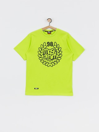 T-shirt MassDnm Base (toxic yellow)