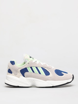 Buty adidas Originals Yung 1 (ftwr white/glow green/collegiate royal)