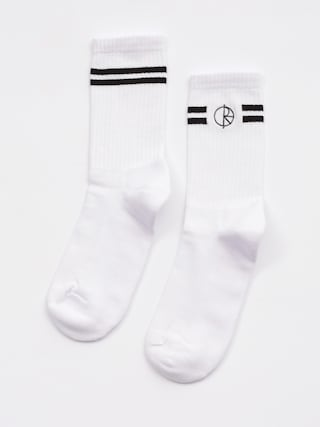 Skarpetki Polar Skate Stroke Logo (white black)