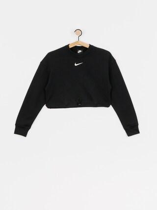 Bluza Nike Swsh Crew FT Wmn (black/white)