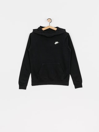 Bluza z kapturem Nike Sportswear Essential HD Wmn (black/white)