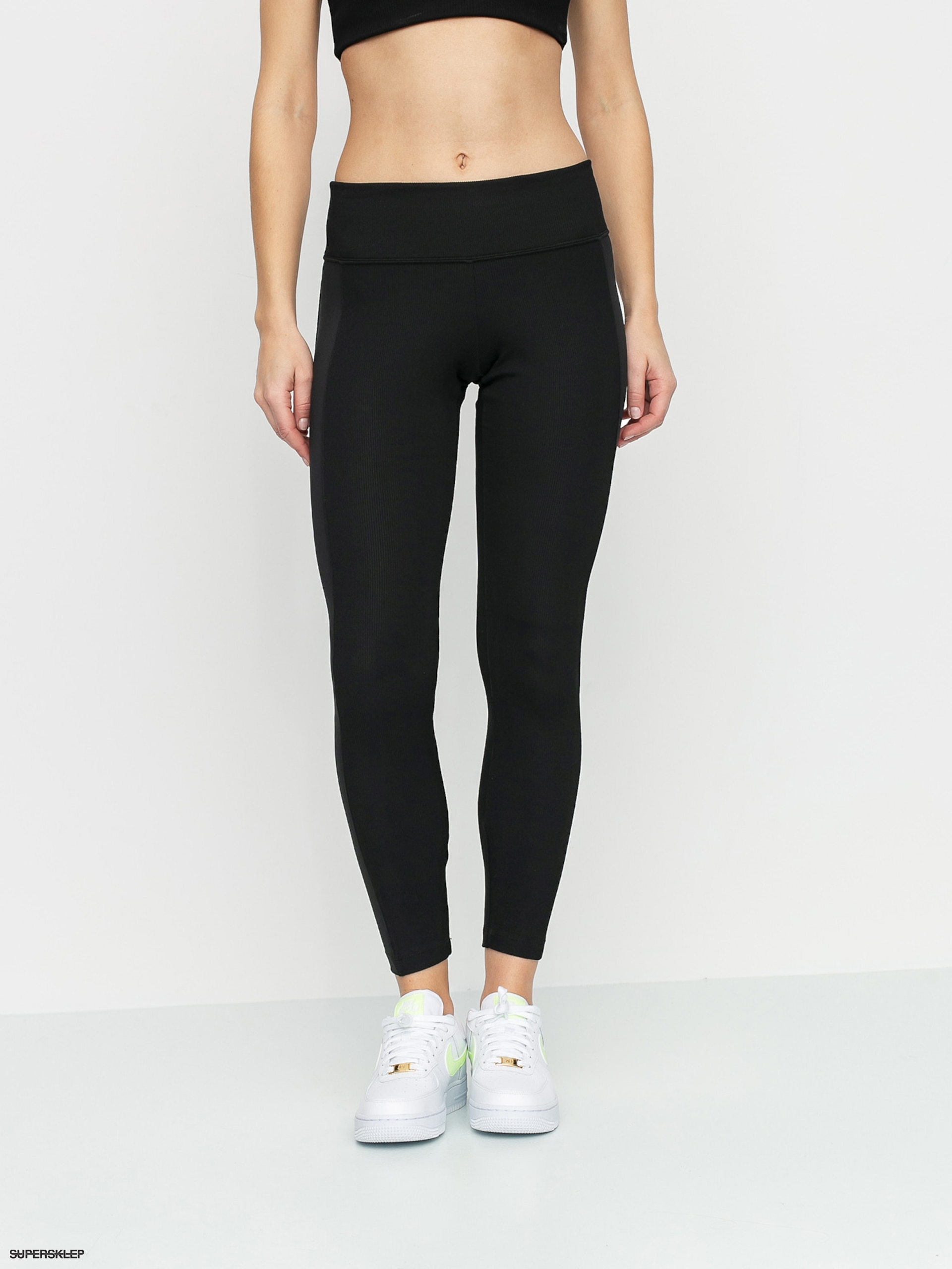 Legginsy Nike Air Crop Wmn (blackice silver)