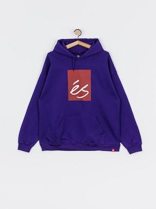 Bluza z kapturem eS Main Block HD (purple)