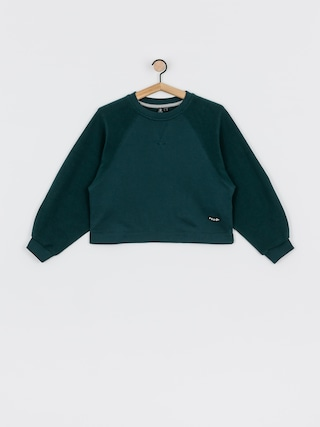 Bluza Volcom Brushism Fleece Wmn (emerald green)